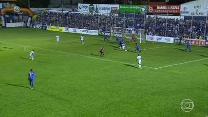 Cruzeiro sai na frente, cede empate à URT e se afasta dos líderes do Campeonato Mineiro