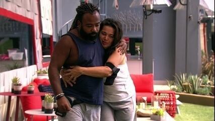 Tereza agradece conversa com Rodrigo: 'É bom esse cuidado, esse carinho'
