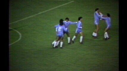 Em 1983, Flamengo perde para o Bolívar por 3 x 1 na Libertadores
