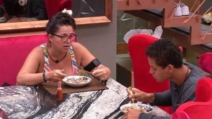 Tereza opina sobre ter tirado Gabriela da Prova do Líder: 'Acho que ela até gostou'