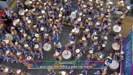 Samba da Unidos da Tijuca fala da importância do pão