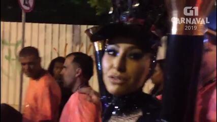 Sabrina Sato conta que Zoe lhe dá ainda mais emoção para desfilar no carnaval
