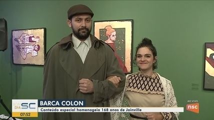 'Barca Colon' chega em Joinville e conta a história dos primeiros colonizadores