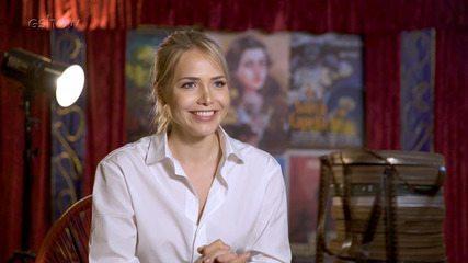 Letícia Colin fala sobre sua personagem e comenta a trama de Cine Holliúdy