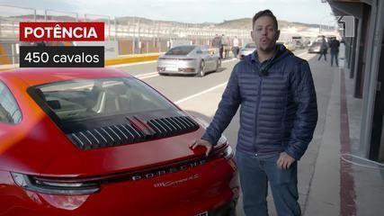 G1 testa novo Porsche 911 na Espanha