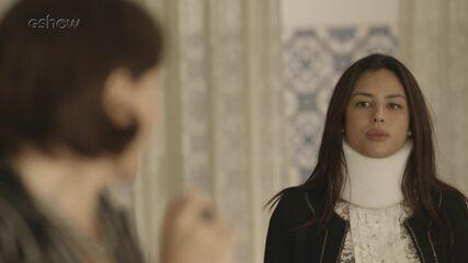 Resumo do dia - 11/03 – Valentina se surpreende com a chegada de Laura