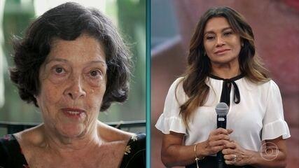 Dira Paes recebe depoimentos da ex-sogra e da sogra atual