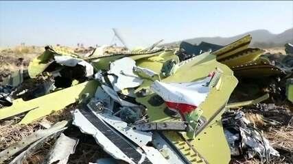 Etiópia encontra caixas-pretas do avião que caiu com 157 a bordo