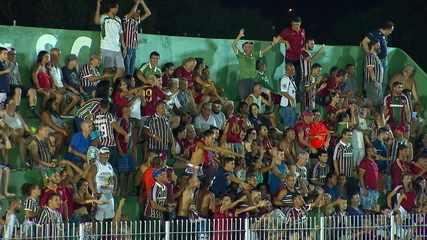 Os gols de Boavista 0 x 3 Fluminense pelo Campeonato Carioca