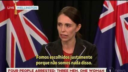 Primeira ministra da Nova Zelândia repudia ataque à mesquita