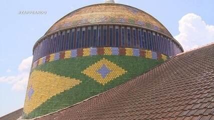 Parte 1: Isa e Dieguinho conhecem a cúpula do Teatro Amazonas