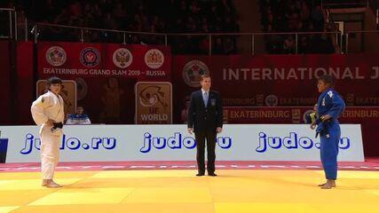 Melhores momentos da luta de Sarah Menezes no Grand Slam da Rússia