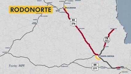 Especial pedágios no Paraná: Rodonorte deveria de fazer um contorno em Ponta Grossa