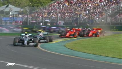Bottas assume a ponta na largada do GP da Austrália