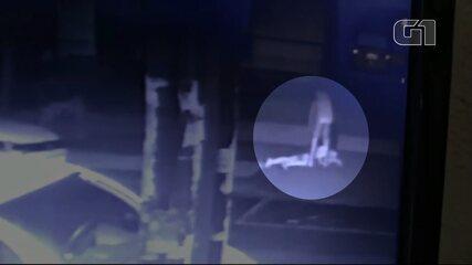 Vídeo mostra momento em que jovens tentam fugir, após serem esfaqueados em pensionato de Maringá