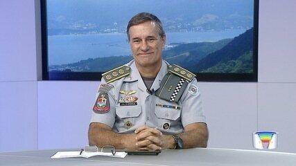 Coronel José Eduardo Stanelis assume comando da PM no Vale