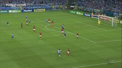 Grêmio vence o Inter por 1 x 0 em Gre-Nal na Arena, em Porto Alegre