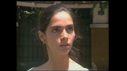 Chamada da Claudia Ohana em 'Amor Com Amor Se Paga'