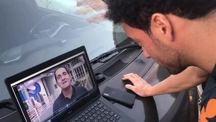 Na Seleção, Felipe Anderson recebe mensagem de Muricy e cita ensinamentos do treinador