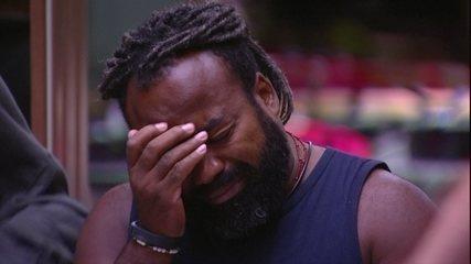 Rodrigo chora com promessa de Alberto