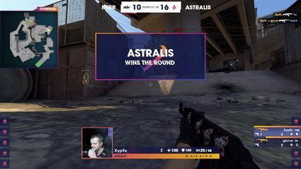 Astralis fecha partida contra MIBR em 16 a 10