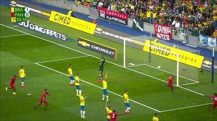 Melhores momentos de Brasil 1 x 1 Panamá em amistoso da seleção
