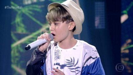 Guilherme Mendes canta 'Hero'