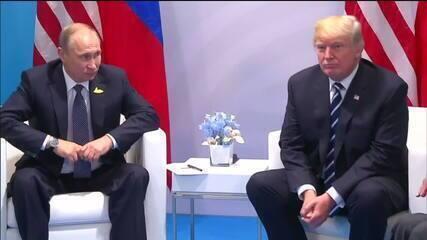Mueller não acha provas de que Trump conspirou com os russos durante campanha presidencial