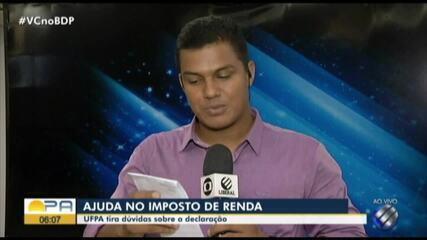 UFPA orienta sobre imposto de renda em Belém