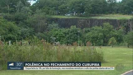 Sem luz, Parque Curupira fecha mais cedo em Ribeirão Preto, SP