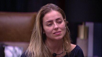 Paula fala sobre Paredão: 'É a chance de tirar uma das pessoas que votam na gente'