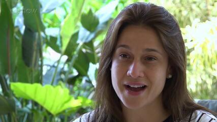 Fernanda Gentil diz que sempre foi fã de Sandy e Junior
