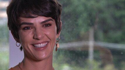 Monica Benini se emociona ao falar sobre a chegada do filho com Junior