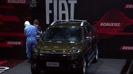 Paula é a última a sair da Prova de Resistência Fiat Toro