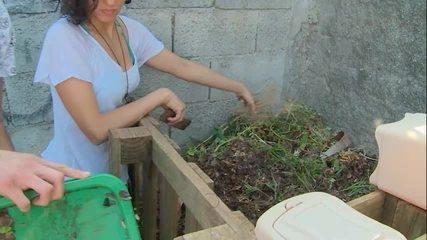 Só na web: aprenda a fazer compostagem