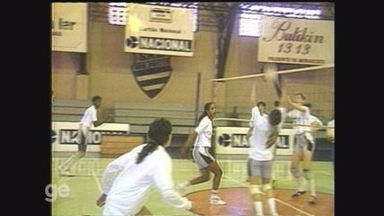 Memória: time feminino da Recra se prepara para disputar Liga nacional de vôlei