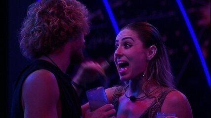 Paula fala para Alan: 'Na minha cabeça não passa a palavra desistir'