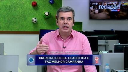 Comentaristas destacam Fred e Fábio na vitória do Cruzeiro contra o Hurácan na Libertadores