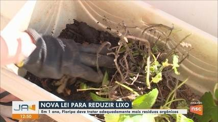 Prefeitura de Florianópolis sanciona lei para reduzir lixo