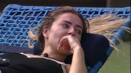 Paula lembra de romance entre Alan e Hana: 'Única vez que ele começou a se sobressair'