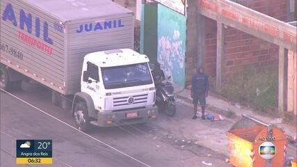 Globocop flagra movimentação de roubo de carga em Manguinhos