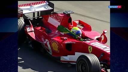 Felipe Massa vence o GP do Brasil de 2006