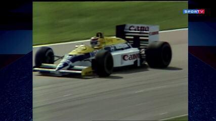 A dobradinha Piquet-Senna no GP do Brasil de 1986