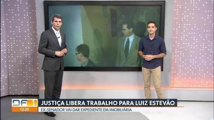 Luiz Estevão recebe autorização para trabalhar fora da Papuda