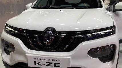 G1 mostrou Renault Kwid elétrico no Salão de Xangai