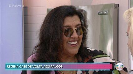 Regina Casé está de volta ao teatro após 25 anos