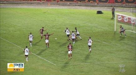 Botafogo-PB vence o Campinense e sai na frente no jogo de ida da decisão