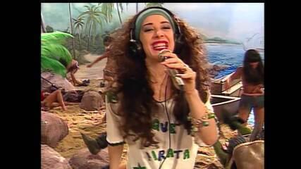 TV Pirata – CLAUDIA RAIA É A REPÓRTER CECI BRANDÃO COBRINDO O DESCOBRIMENTO DO BRASIL