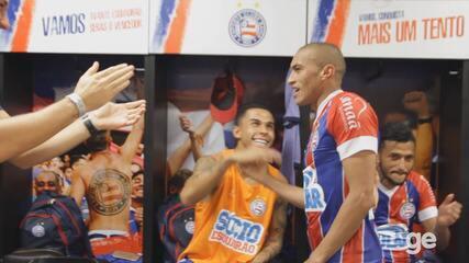 Nino Paraíba é elogiado pelos colegas após bela atuação na Copa do Brasil