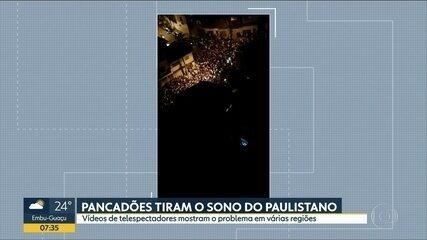 Pancadões tiram o sono do Paulistano